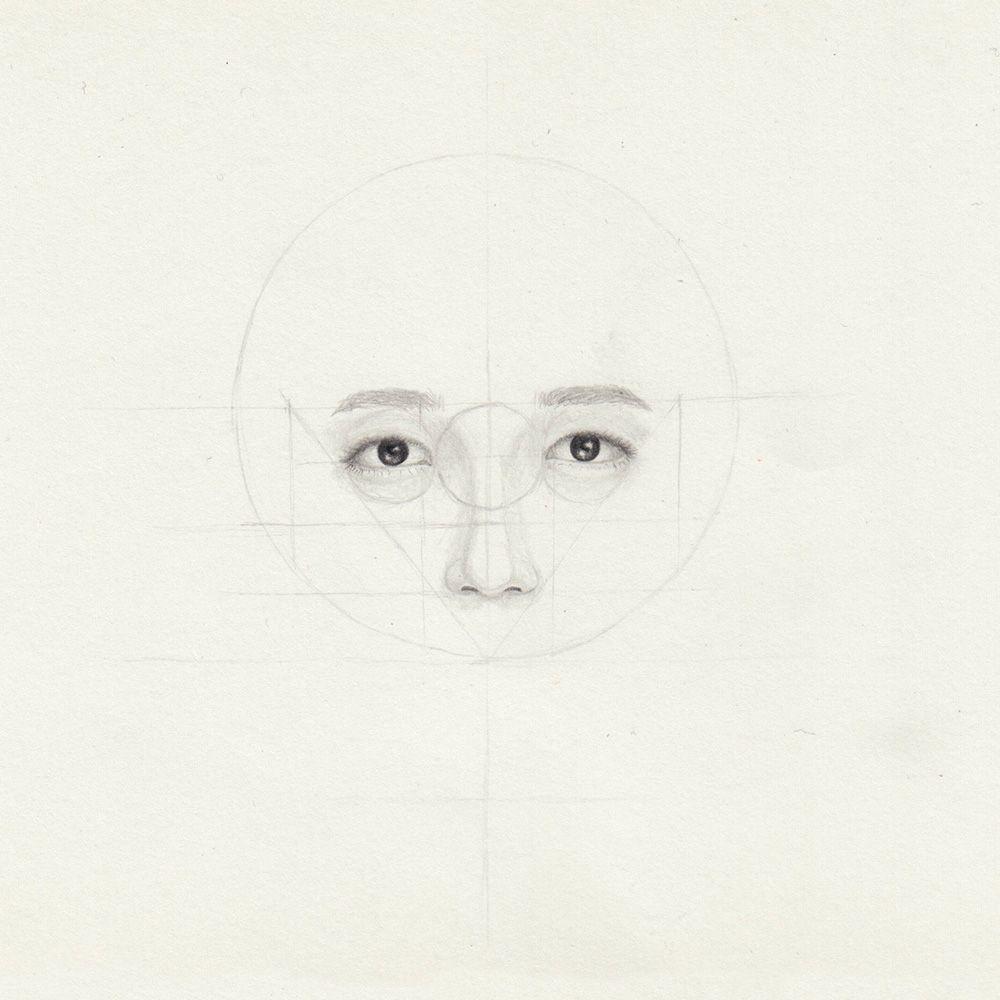Kopf Zeichnen In 2020   Kopf Zeichnen, Zeichnen, Augenbrauen mit Kopf Zeichnen Lernen