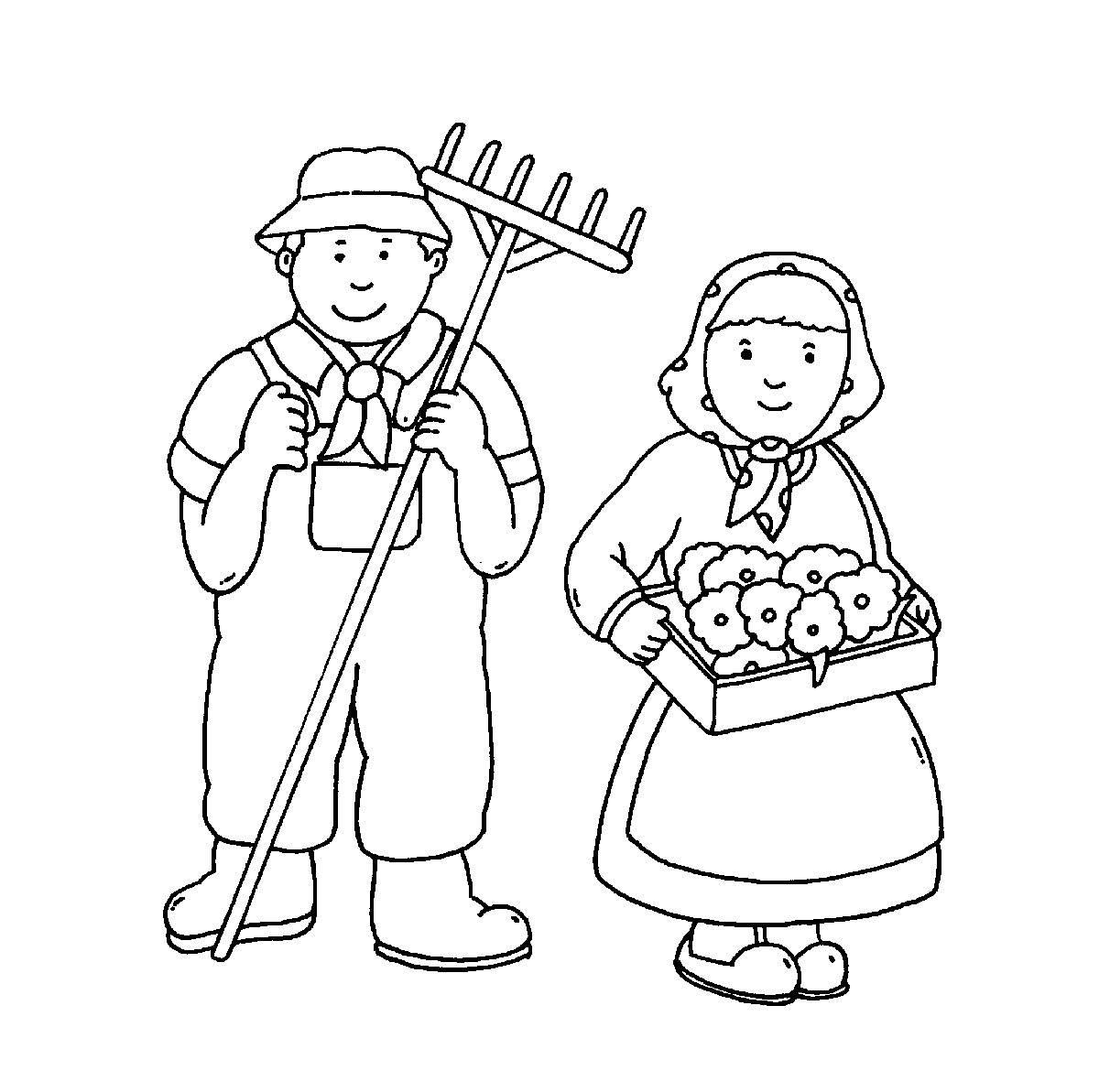 Kostenlose Ausmalbilder Und Malvorlagen: Bauernhof Zum über Ausmalbilder Bauernhof Kostenlos
