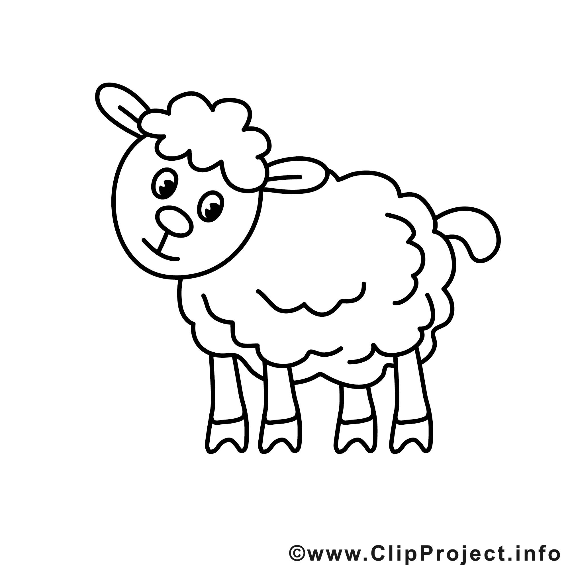 Kostenlose Malvorlage Schaf | Coloring And Malvorlagan mit Schaf Malvorlage