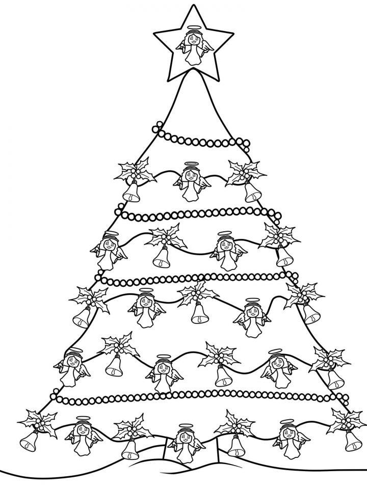 tannenbaum zum ausmalen  kinderbilderdownload