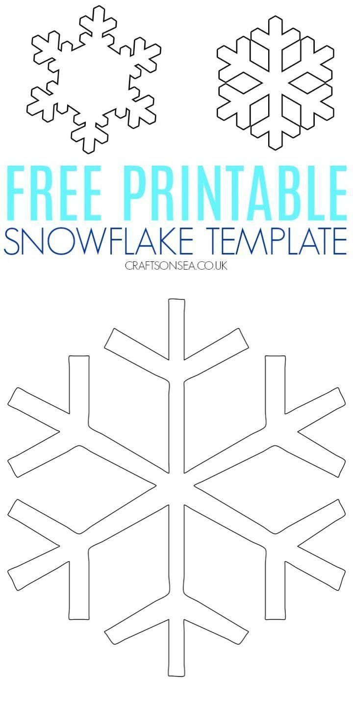 Kostenlose Schneeflocke Vorlage | Schneeflocke Vorlage für Schneeflocke Vorlage