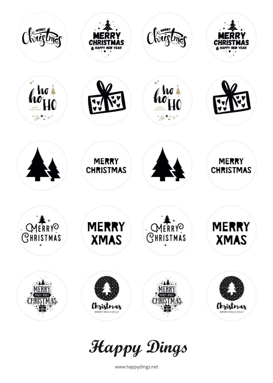 Kostenlose Vorlage Für Weihnachts Teelichter Mit Botschaft bestimmt für Weihnachts Vorlagen