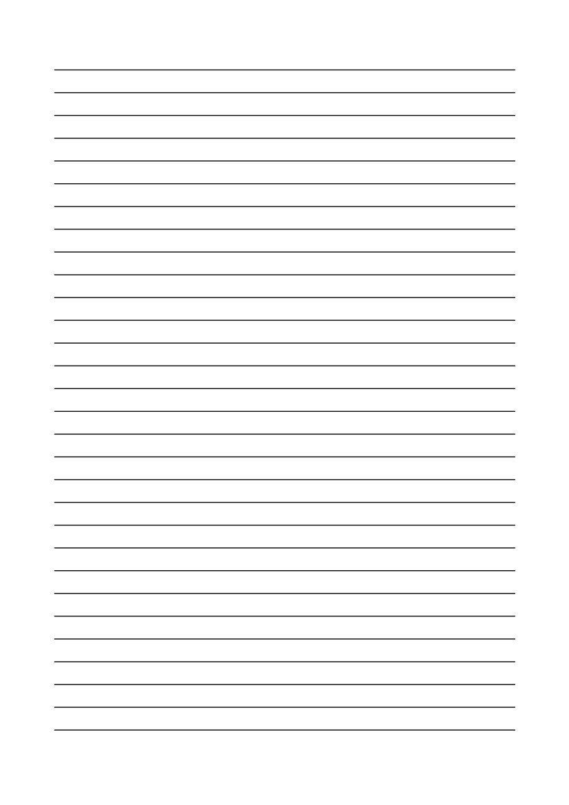 Kostenlose Vorlage Linienpapier | Briefpapier Vorlage über Liniertes Blatt Word