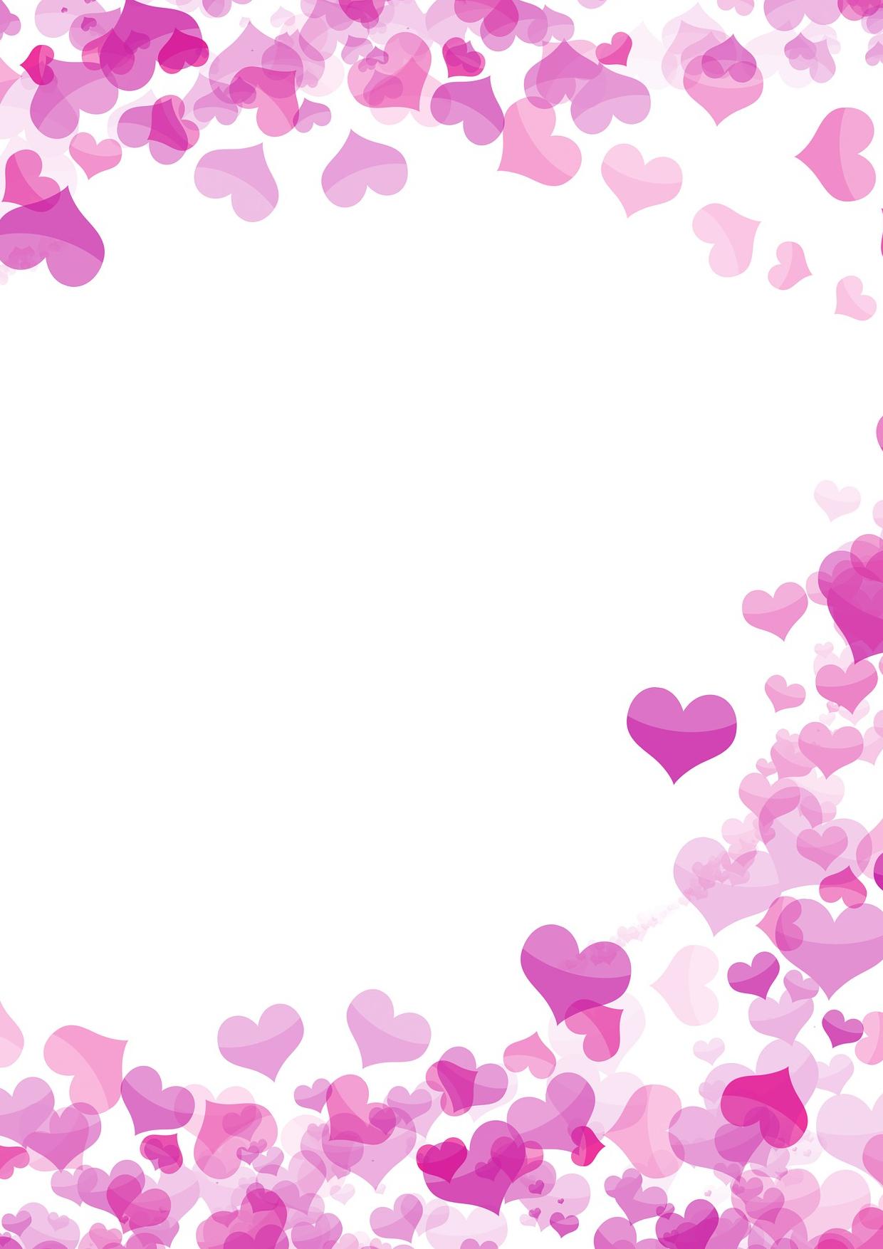 """Kostenloses Briefpapier """"valentinstag"""" - Vorlagen Zum Selbst für Briefpapier Zum Ausdrucken"""