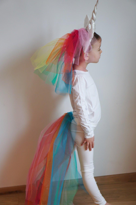 Kostüm: Einhorn | Selbermachen Ohne Nähen! › Die Kleine Botin mit Faschingskostüme Für Kindergarten Selber Machen