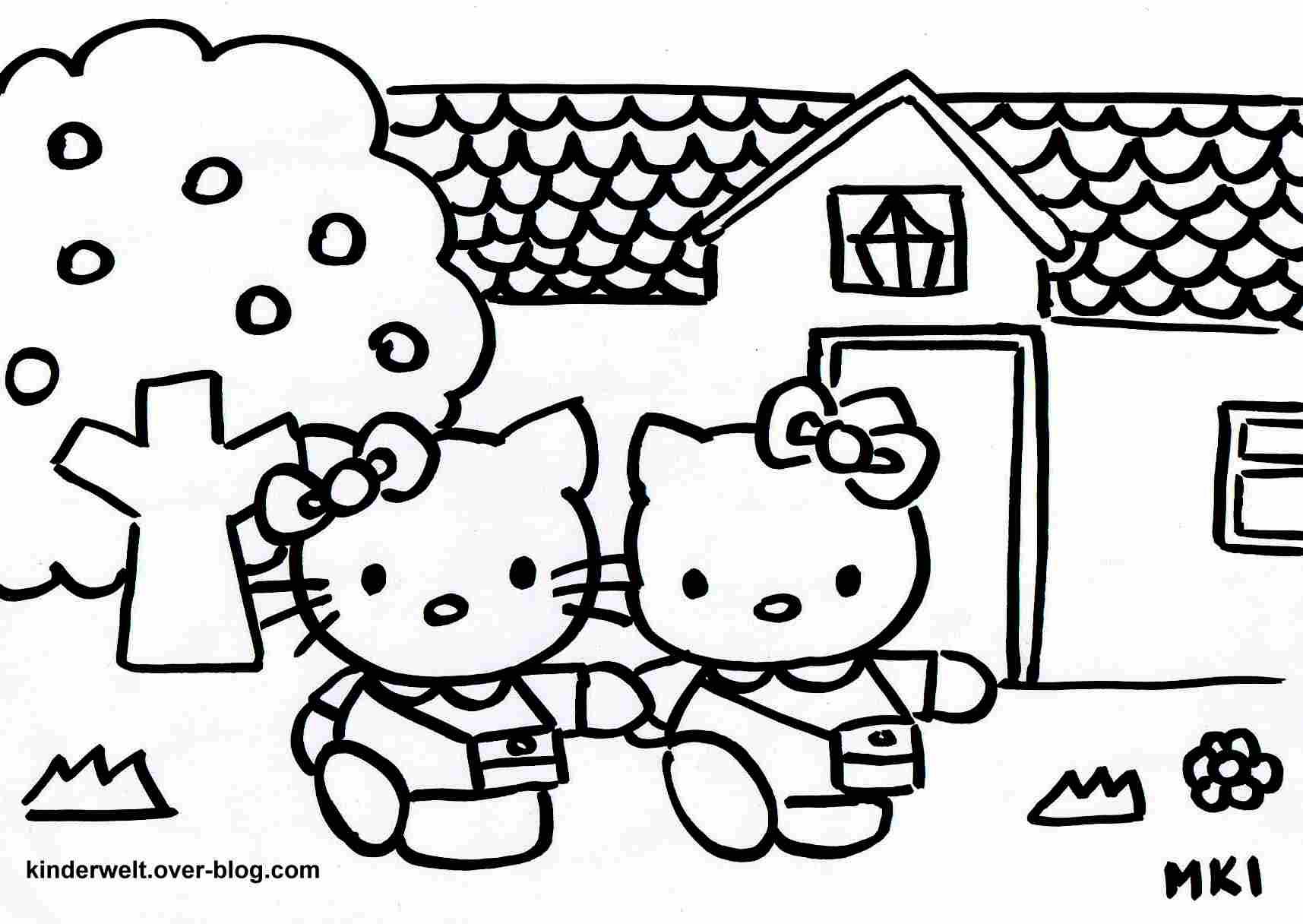 Kreativ Hello Kitty Ausmalbilder Online Kostenlos Fr Dein mit Hello Kitty Kostenlos