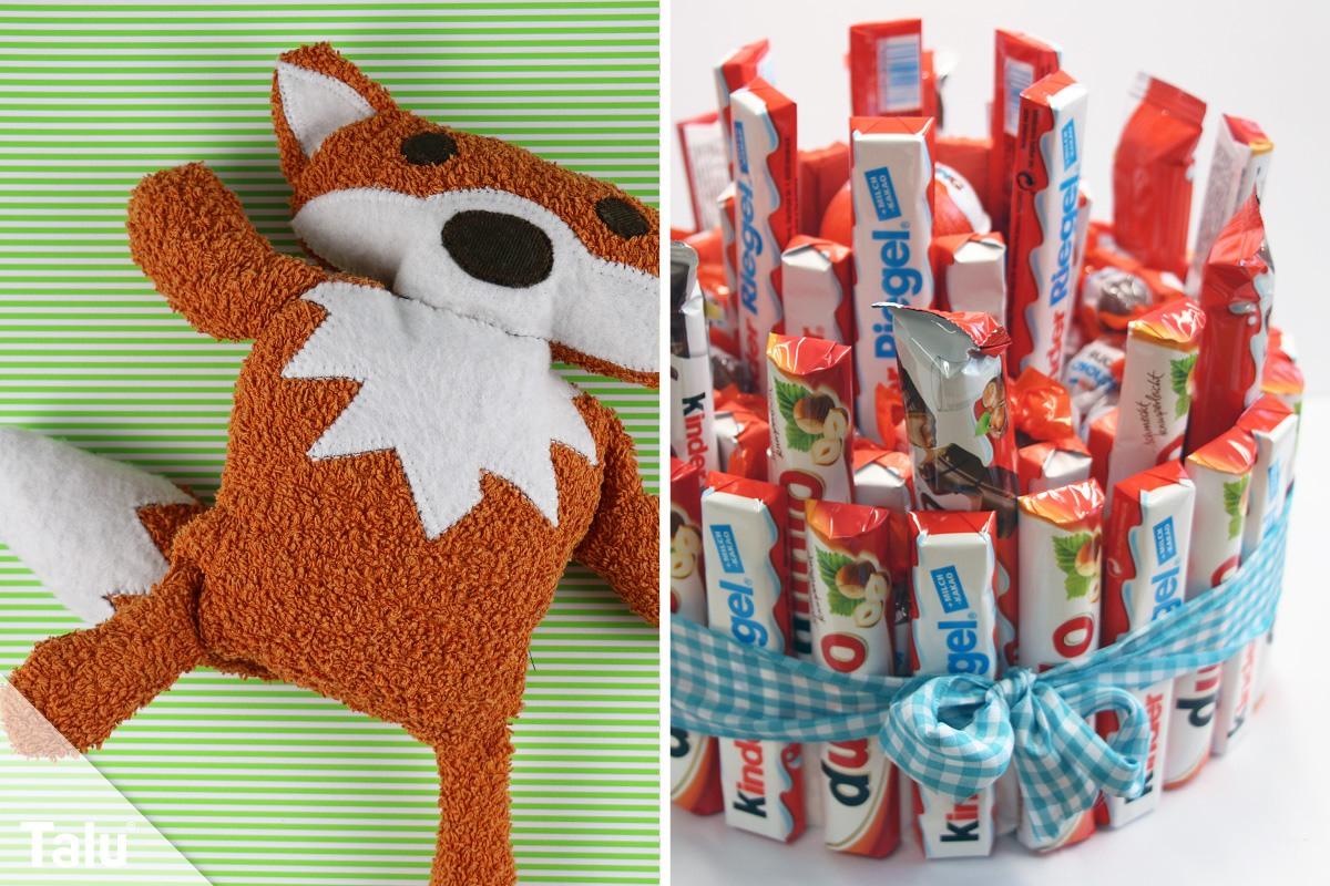 Kreative Geschenke Für Kinder - Talu.de verwandt mit Selbstgebastelte Geschenke Von Kindern