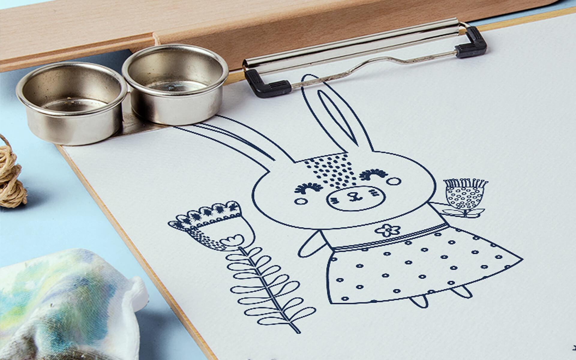 Kreative Malvorlagen Für Kinder   Braindinx Gmbh für Kindermalvorlage