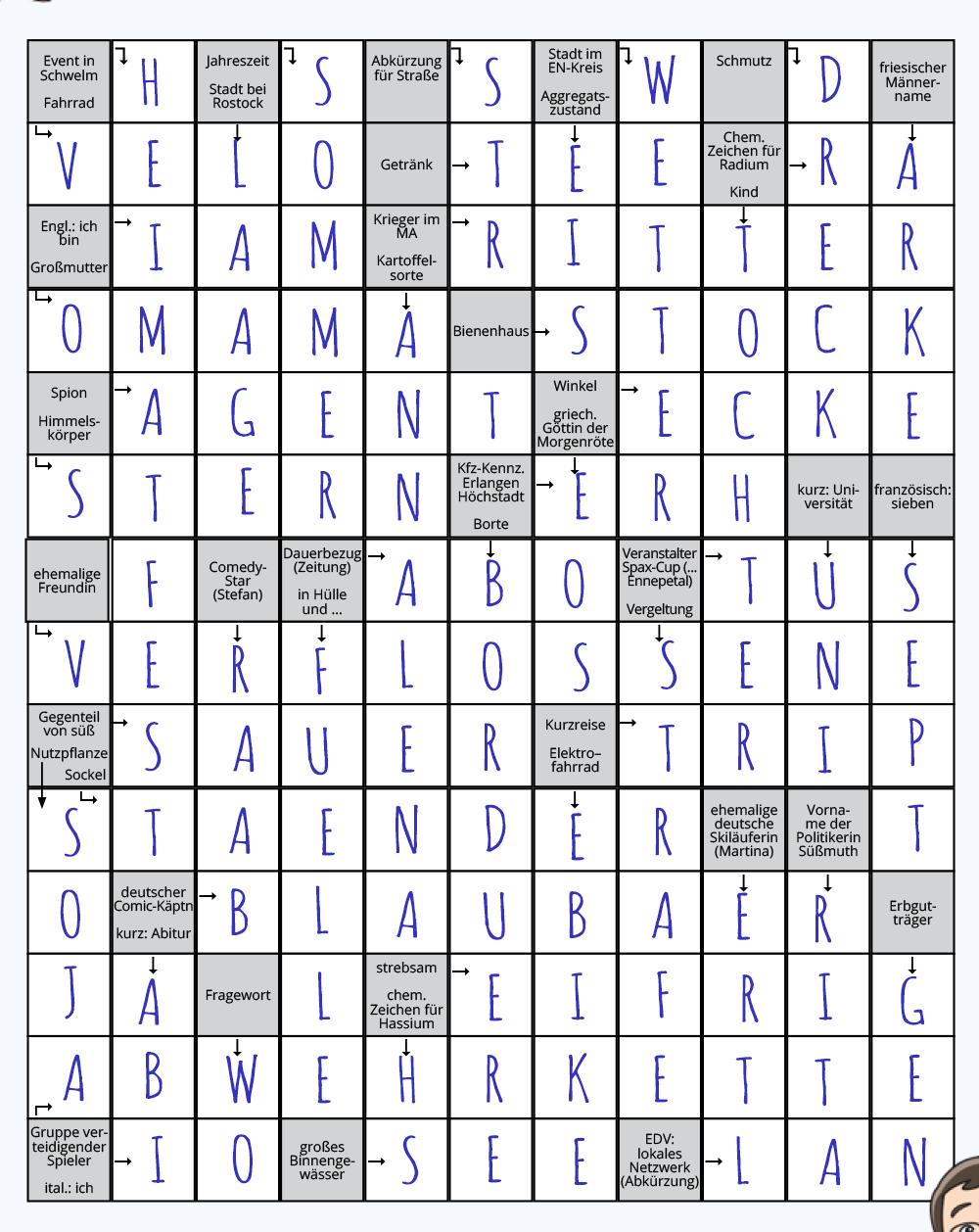 Nicht Mit Kreuzworträtsel