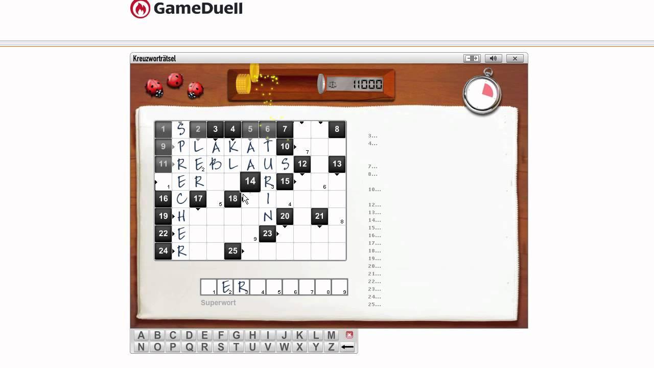Kreuzworträtsel Kostenlos Online Spielen Ohne Anmeldung