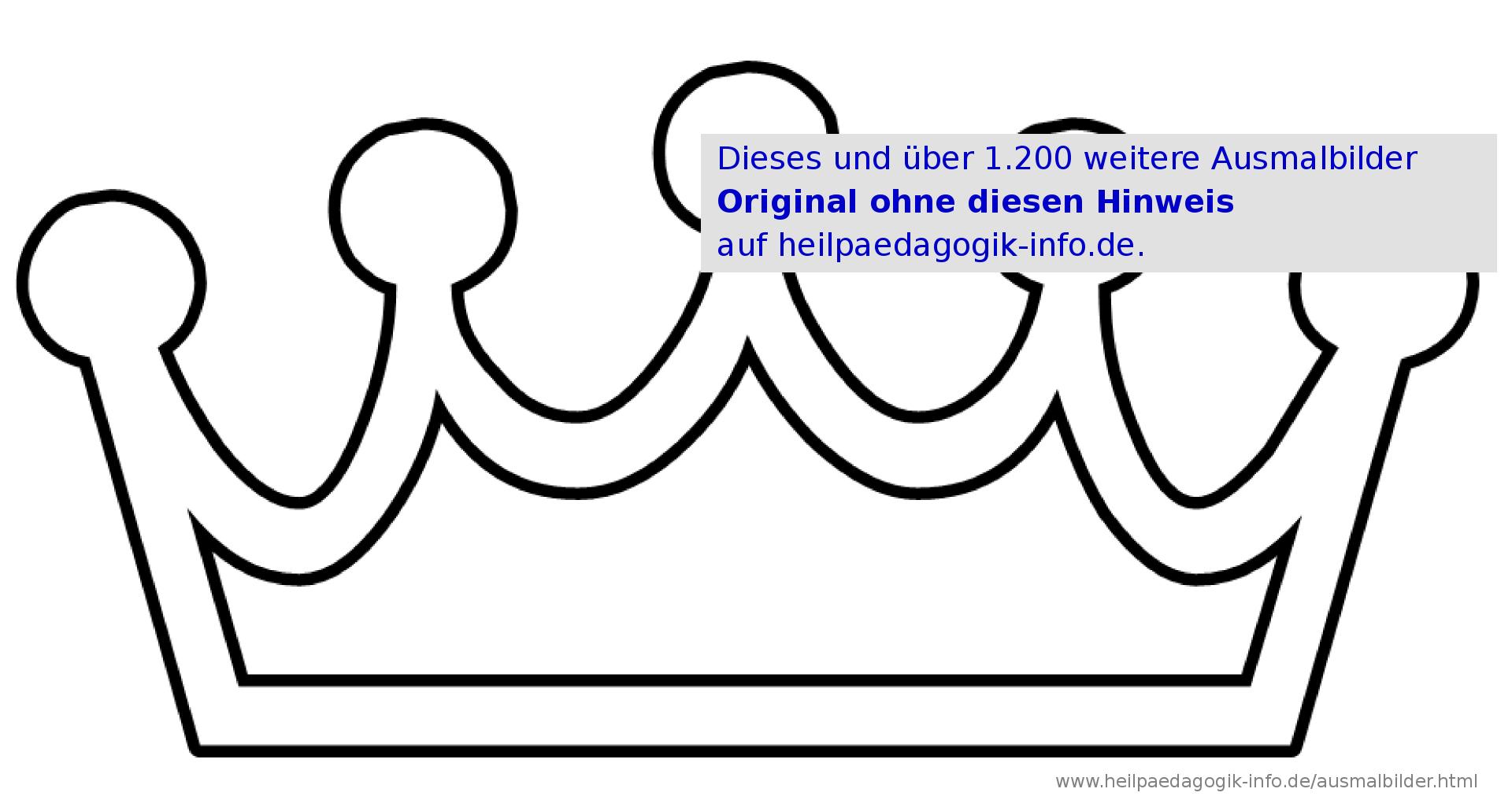 Krone Malvorlage | My Blog für Malvorlage Krone