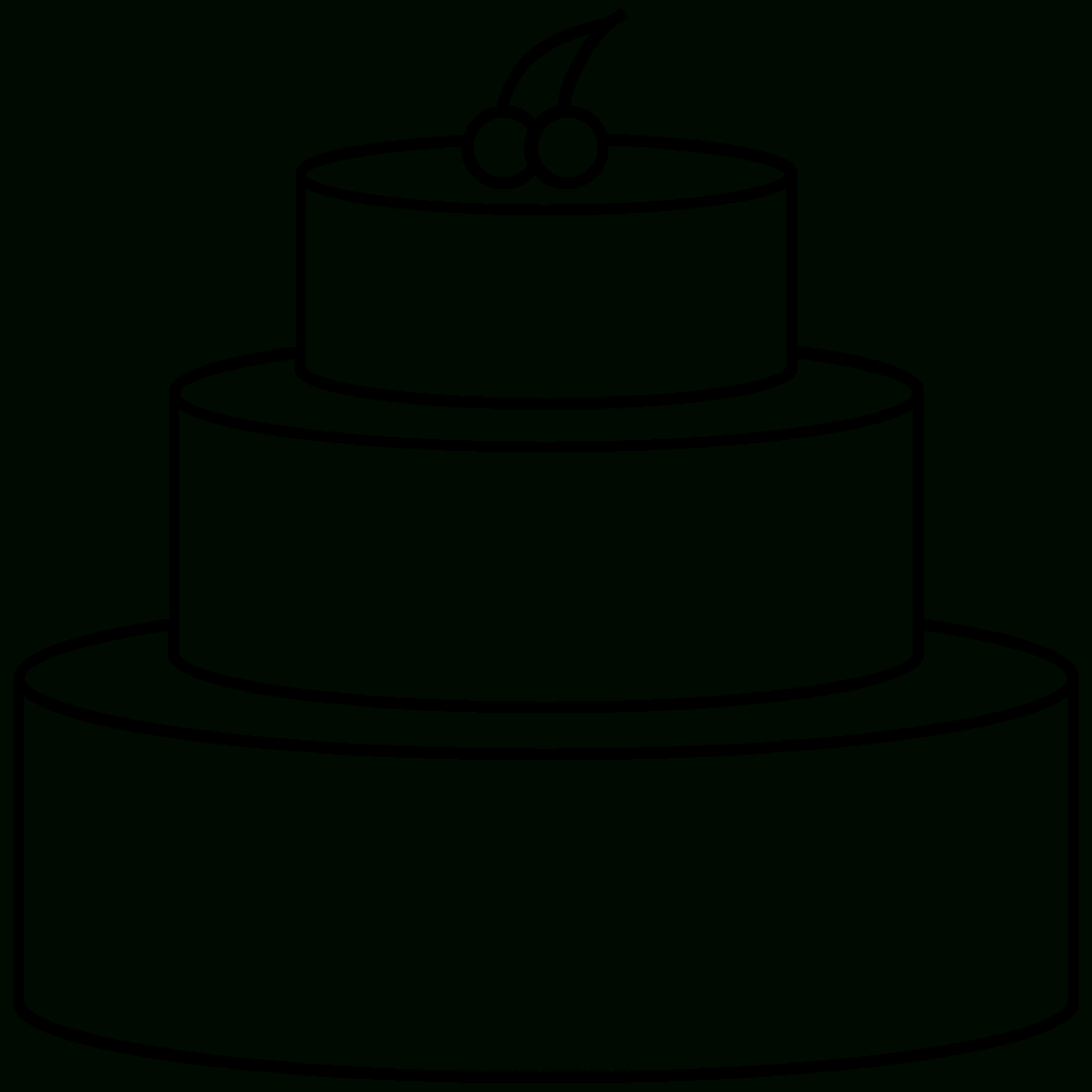 Kuchen Ausmalbilder - Ultra Coloring Pages bei Kuchen Ausmalbild