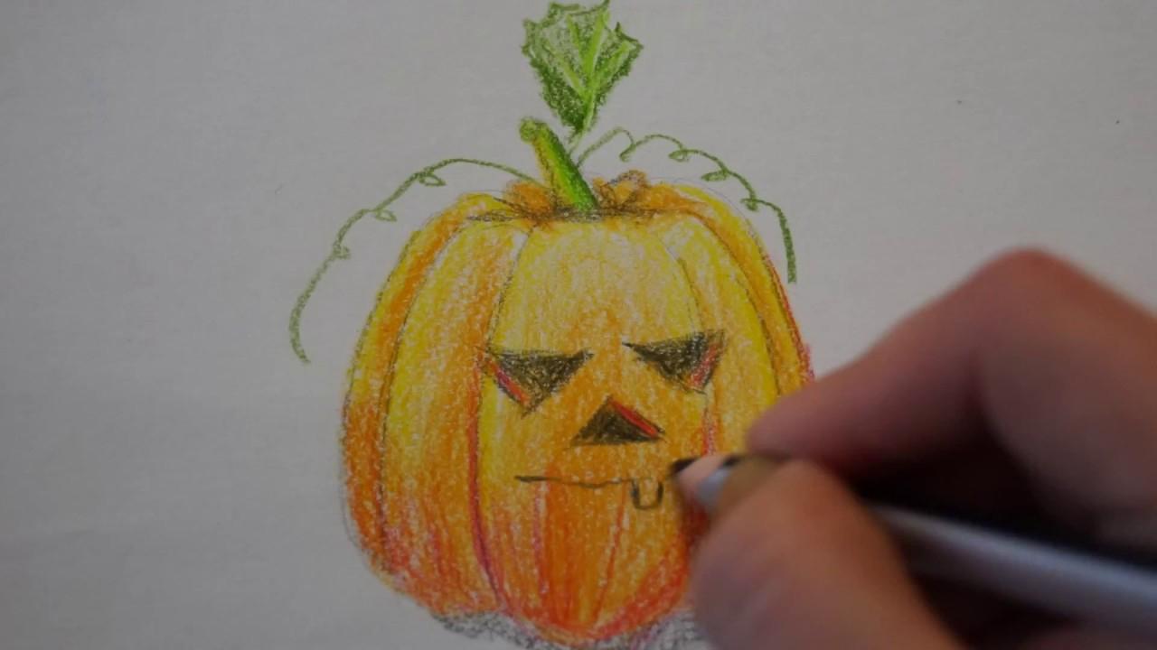 Kürbis Malen Für Halloween innen Kürbis Malen