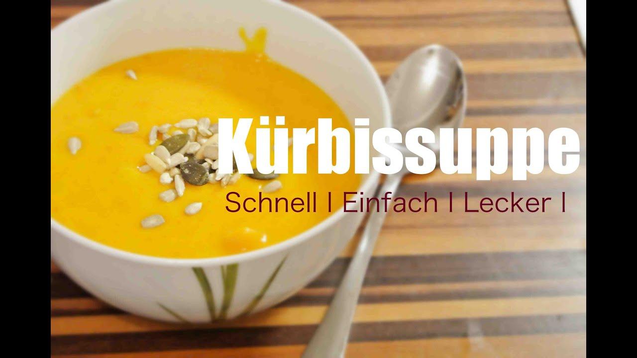Kürbissuppe In 20Min - Schnell, Einfach, Lecker Kochen bestimmt für Chefkoch Kürbissuppe Einfach Und Schnell