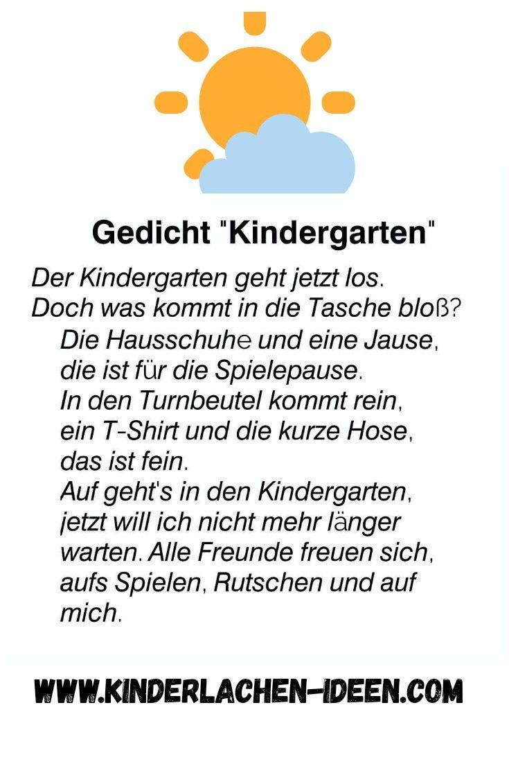 Kurzes Gedicht Für Den Kindergartenstart verwandt mit Geburtstagsgedichte Für Kinder Lustig