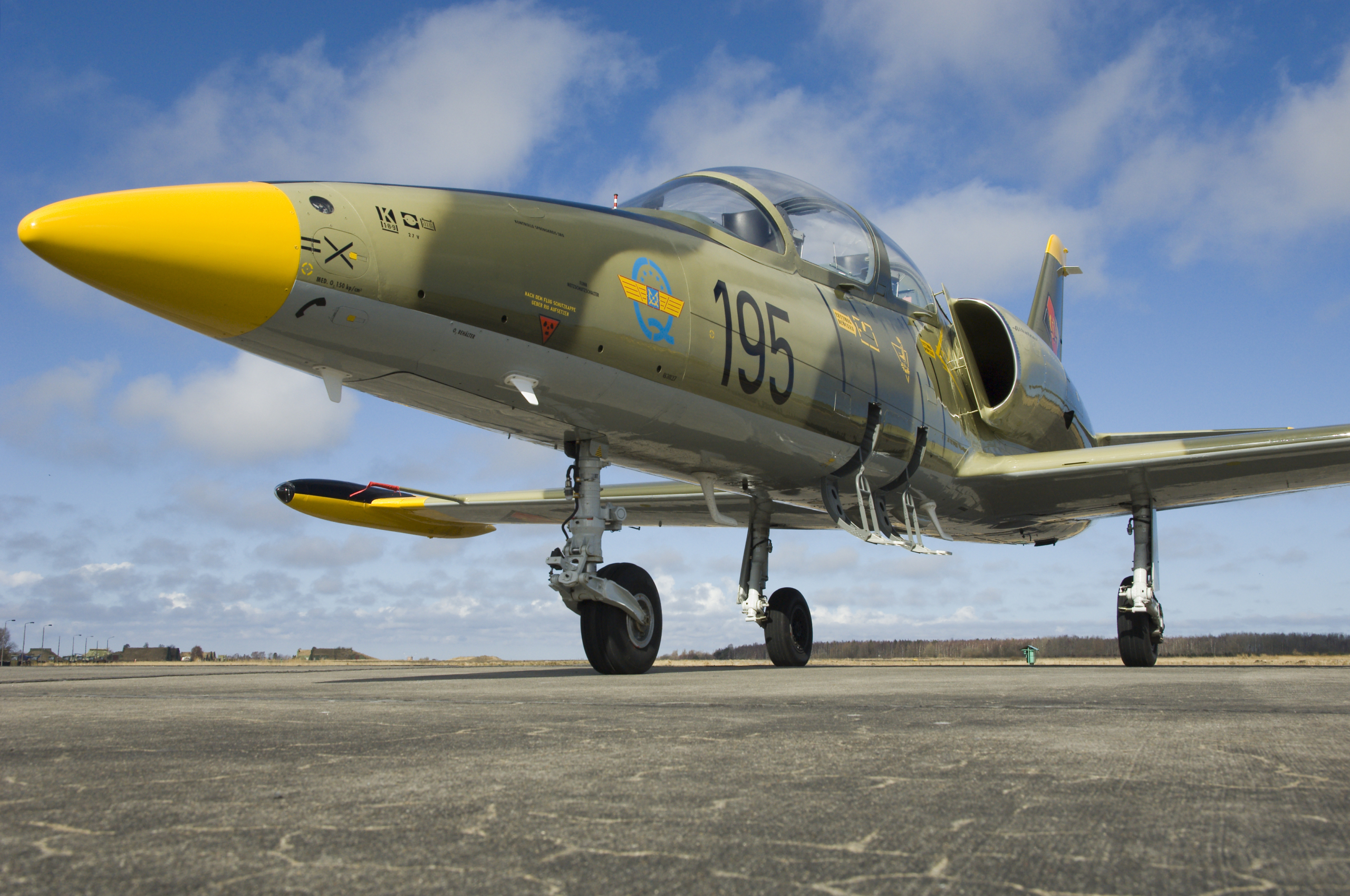 L-39 Jetflug In Tschechien verwandt mit Düsenjet Fliegen