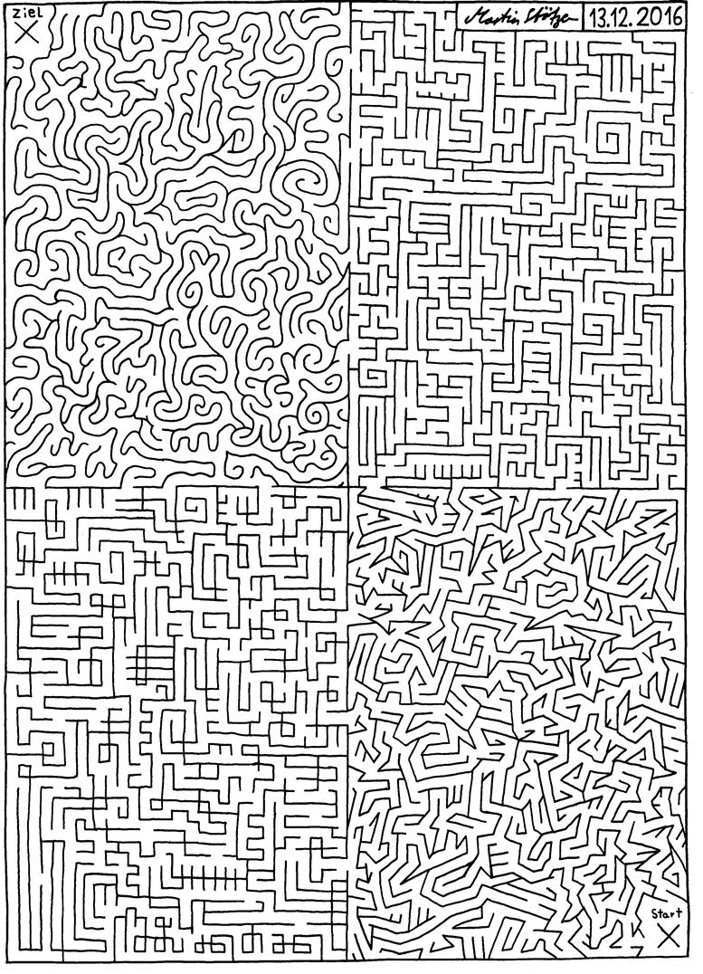 Labyrinth Typisch Labyrinth - Martinslabyrinthes Webseite! verwandt mit Labyrinth Lösen