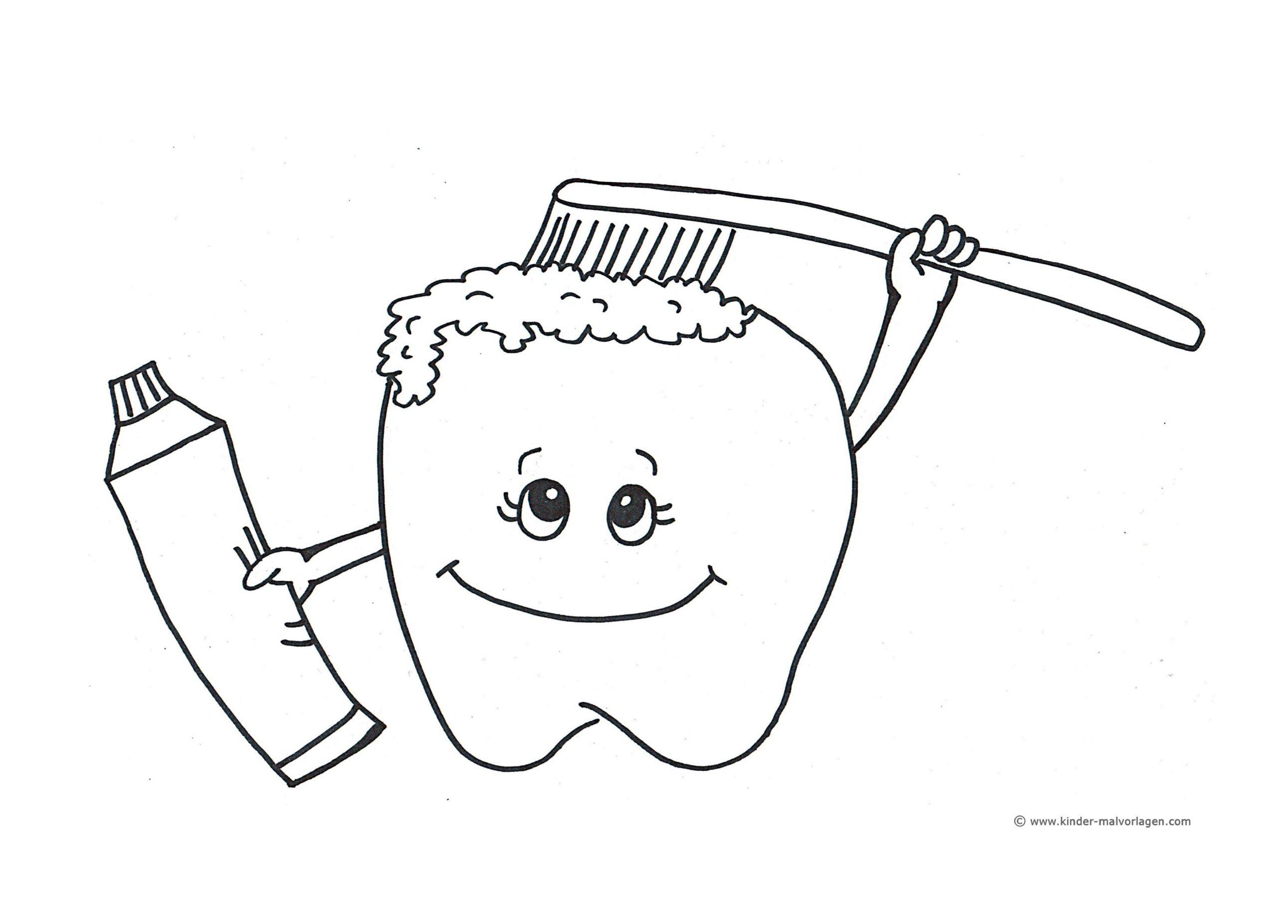 Lagz Rheinland-Pfalz verwandt mit Ausmalbild Zahn