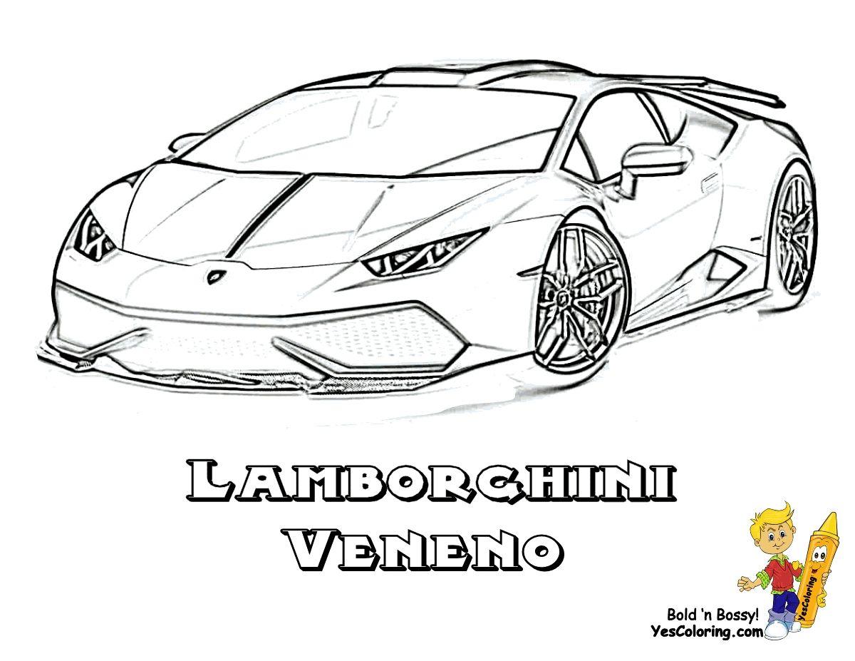 Lamborghini Veneno Coloring Pages Free (Mit Bildern bestimmt für Malvorlagen Lamborghini