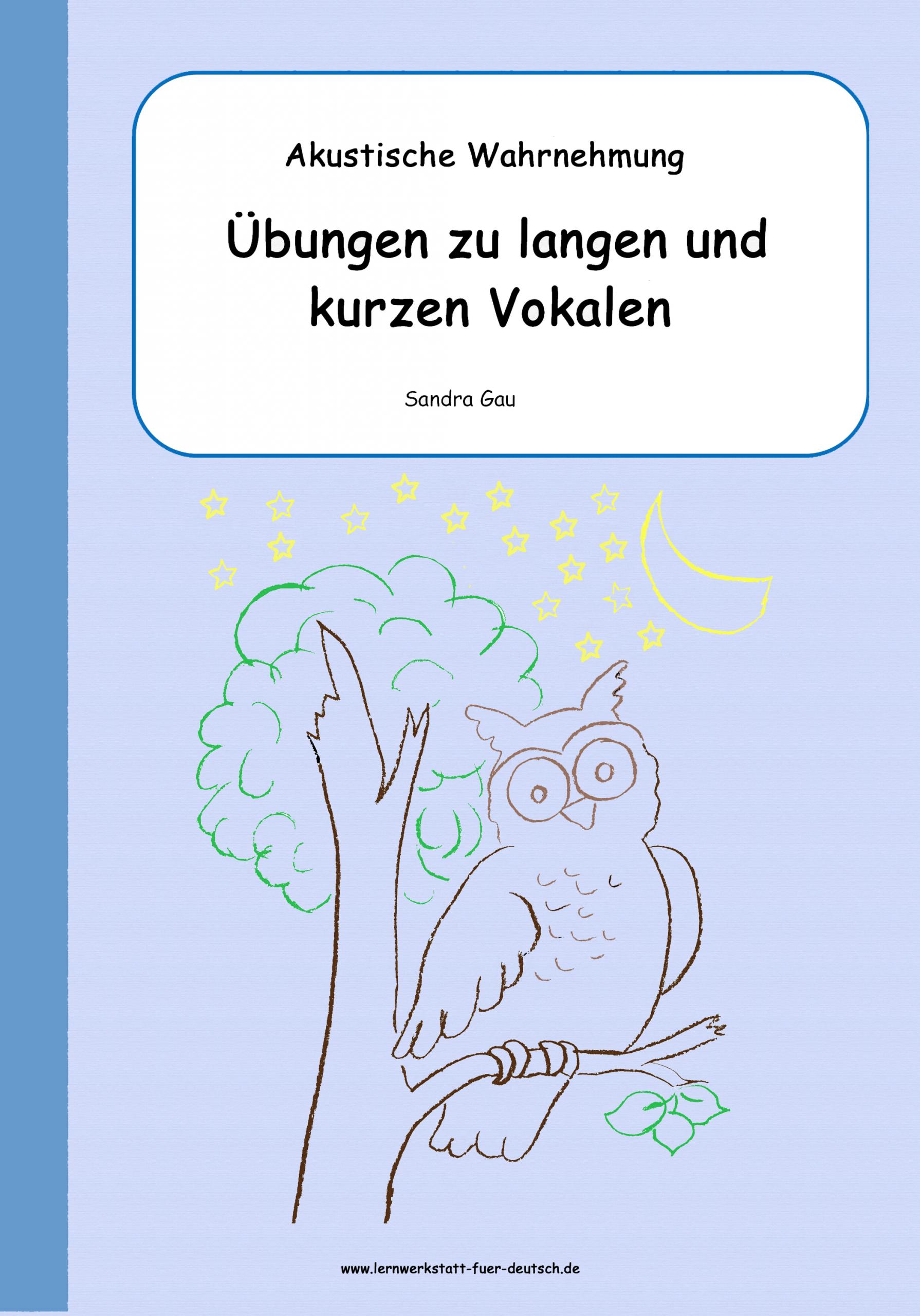 Lange Und Kurze Vokale - Lernwerkstatt Für Deutsch bei Wörter Mit W Am Anfang