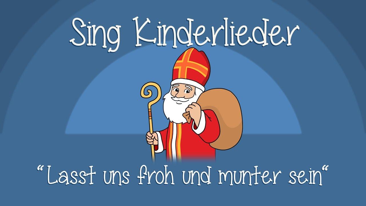 Lasst Uns Froh Und Munter Sein - Weihnachtslieder Zum Mitsingen | Sing  Kinderlieder in Lied Lasst Uns Froh Und Munter Sein