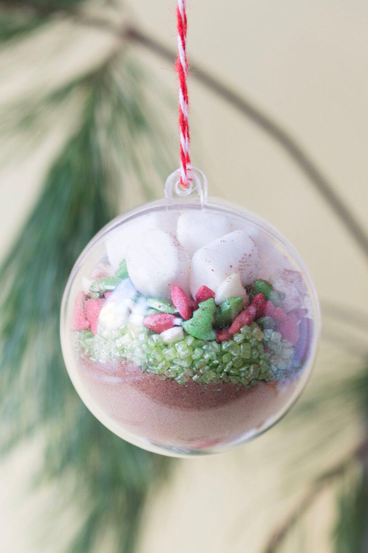 Last Minute Geschenk: Schokoladen Ornament | Bastelideen bestimmt für Bastelideen Für Weihnachten Zum Verschenken