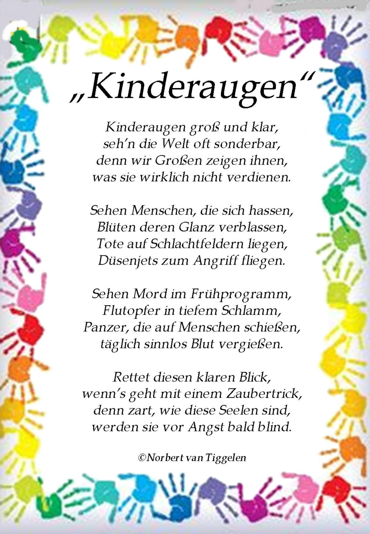 Laßt Sie Strahlen ! | Mutter Zitate, Kinder Zitate, Gute mit Geburtstagsgedichte Für Kinder Lustig