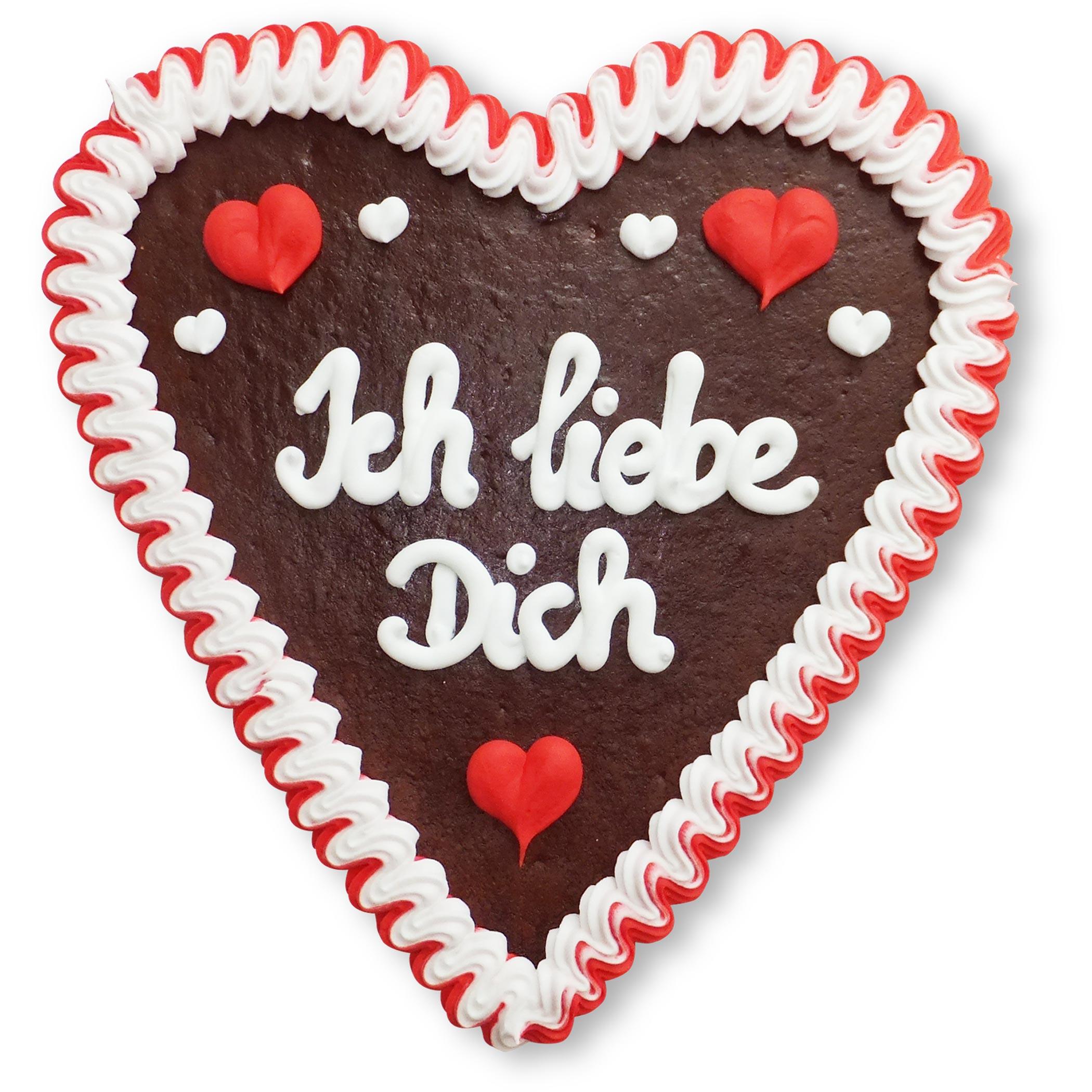 Lebkuchen Herz 21Cm - Ich Liebe Dich verwandt mit Ich Liebe Dich Bilder