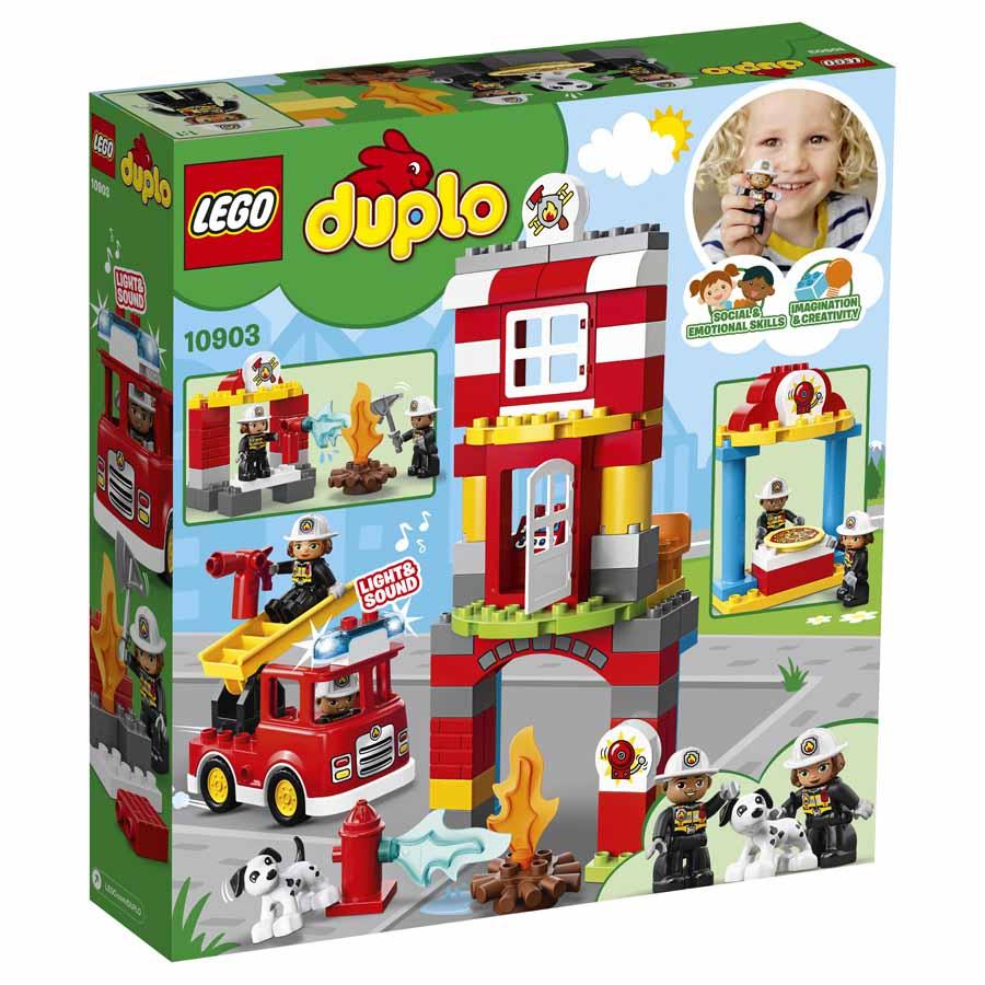 Lego 10903 - Feuerwehrwache - Serie: Lego® Duplo® für Lego Feuerwehrwache