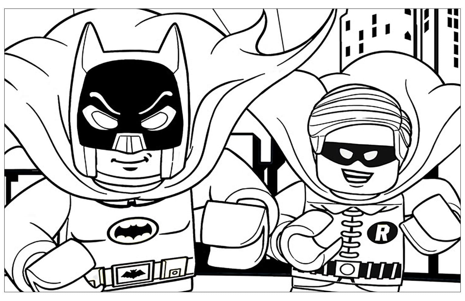 Lego Ausmalbilder. Kostenlos Herunterladen Oder Ausdrucken bei Lego Ausmalbilder Zum Drucken