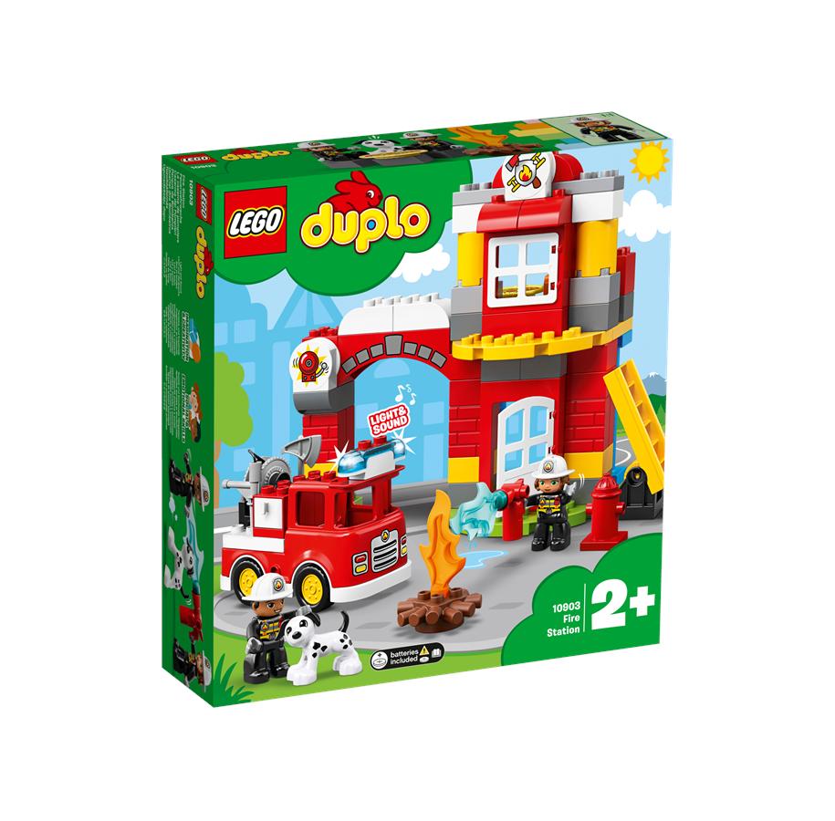 Lego Duplo 10903 Feuerwehrwache in Lego Feuerwehrwache