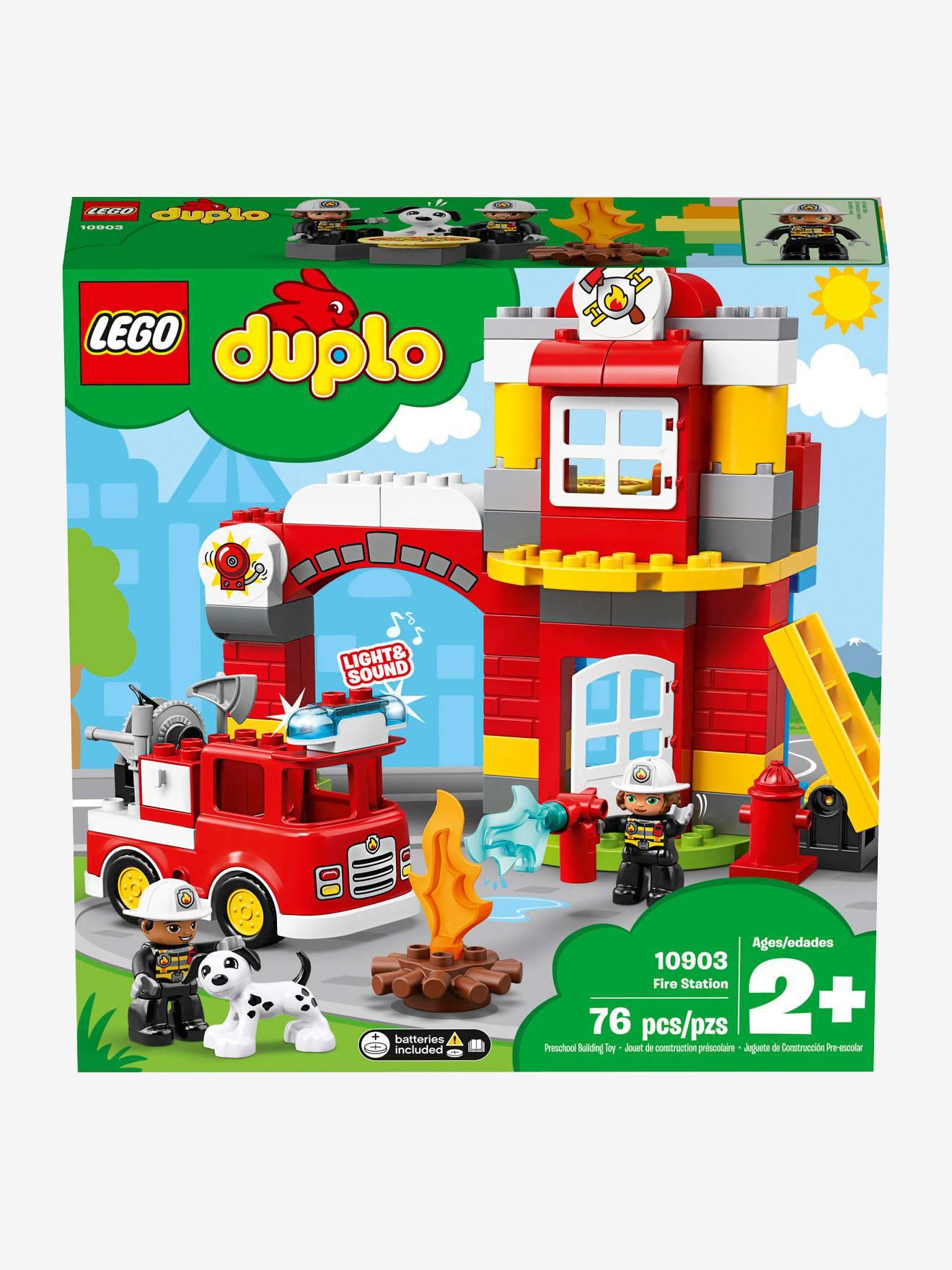 """Lego Duplo Duplo 10903 """"Feuerwehrwache"""" Lego® In Mehrfarbig innen Lego Feuerwehrwache"""