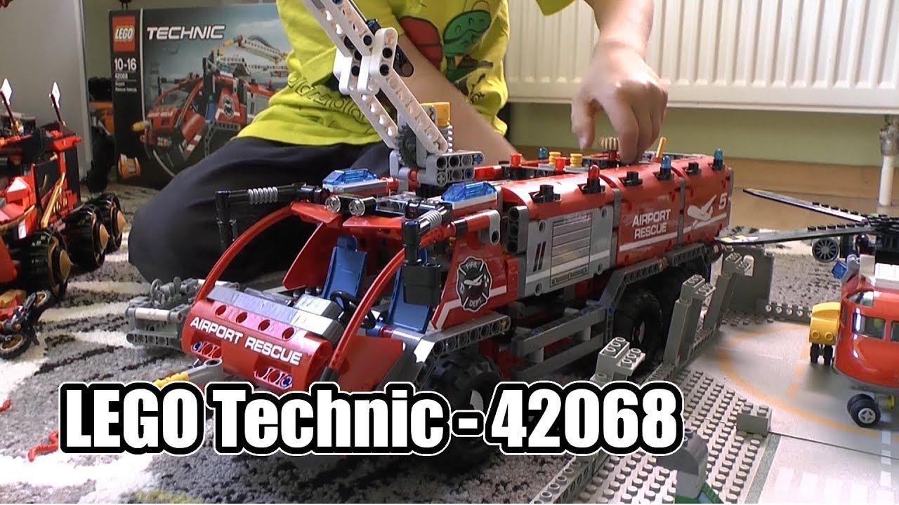 Lego Technic Feuerwehr (Airport Rescue Vehicle) 42068 - Ab 10 Jahre - Teil  289 innen Lego Flughafenfeuerwehr