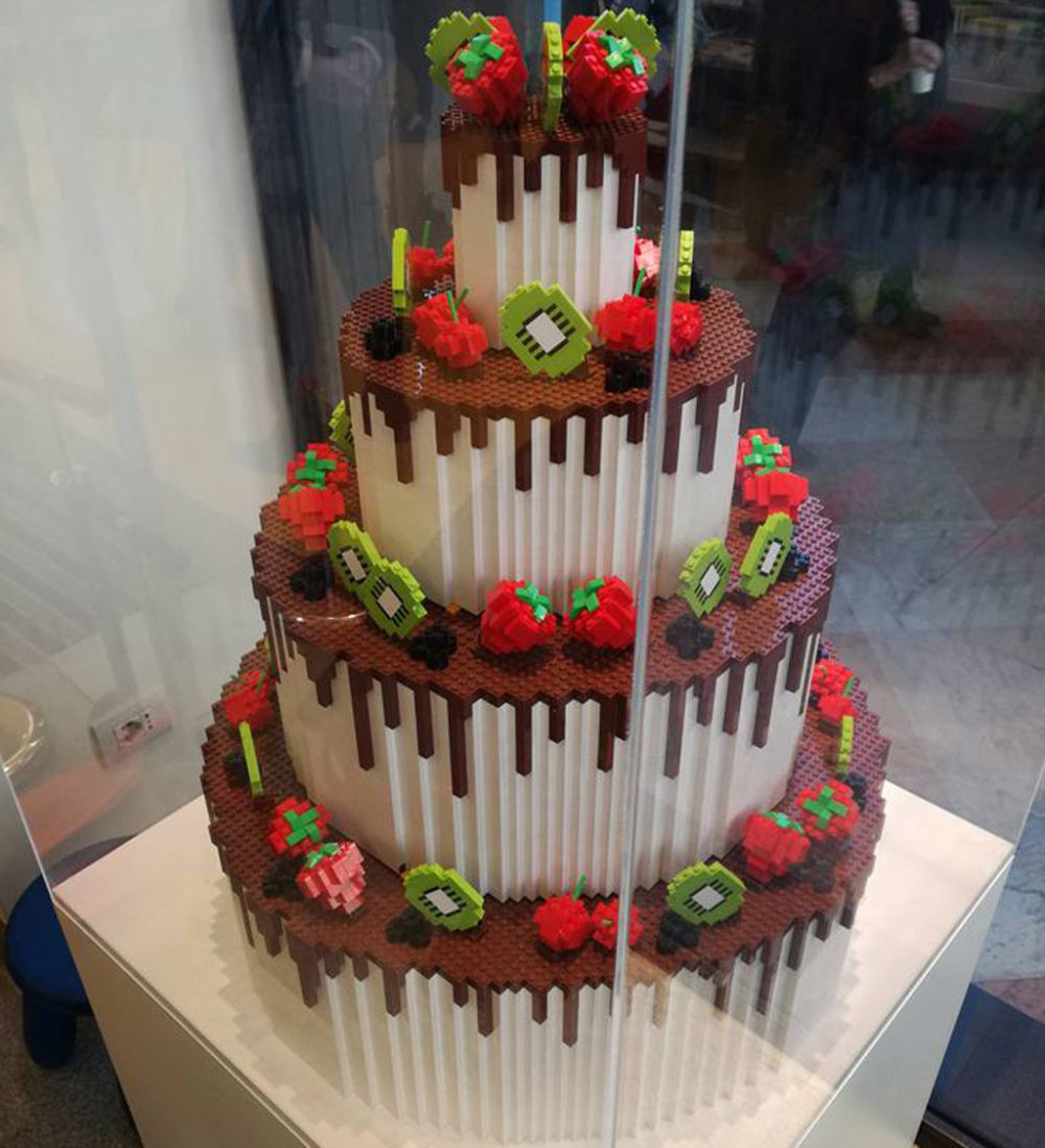 Lego Torte Zum Geburtstag: Aber Bitte Mit Sahne in Torte Für Geburtstag