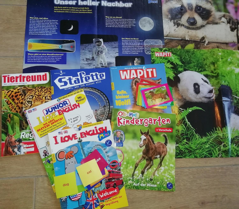 Lese- Und Bastelspaß: Zeitschrift Ohne Werbung! [Werbung Für in Zeitschriften Für Kindergartenkinder