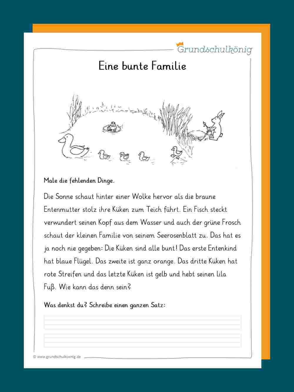 Lesen Und Verstehen verwandt mit Text Lesen Und Fragen Beantworten 3 Klasse