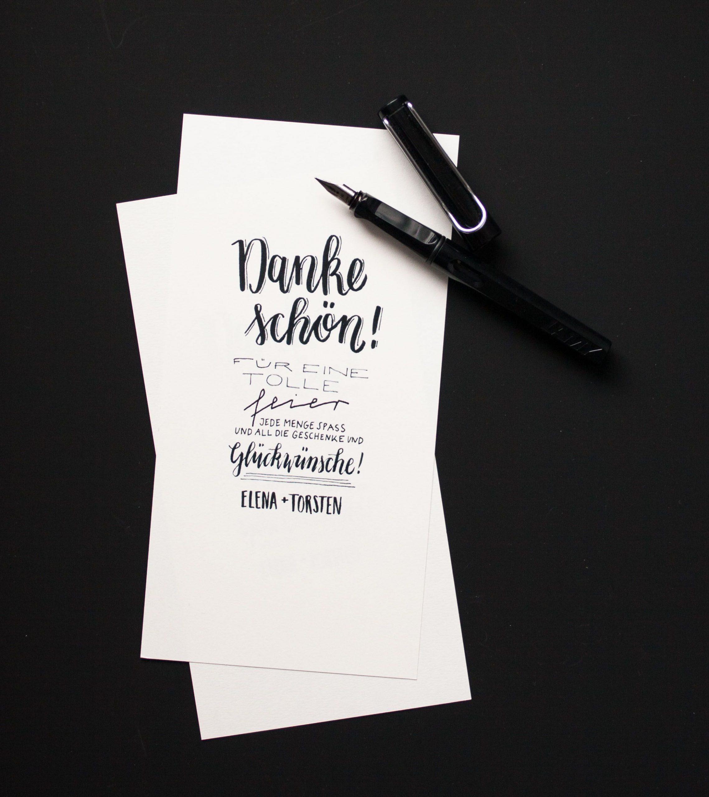 Letter Love Dankeskarten | Dankeskarten, Dankeskarten bestimmt für Dankes Karten