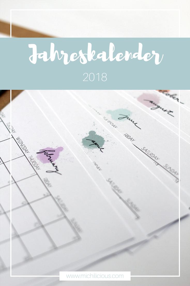 Lettering} Januar Bis Dezember - Mein Handlettering bestimmt für Terminkalender 2017 Selbst Gestalten