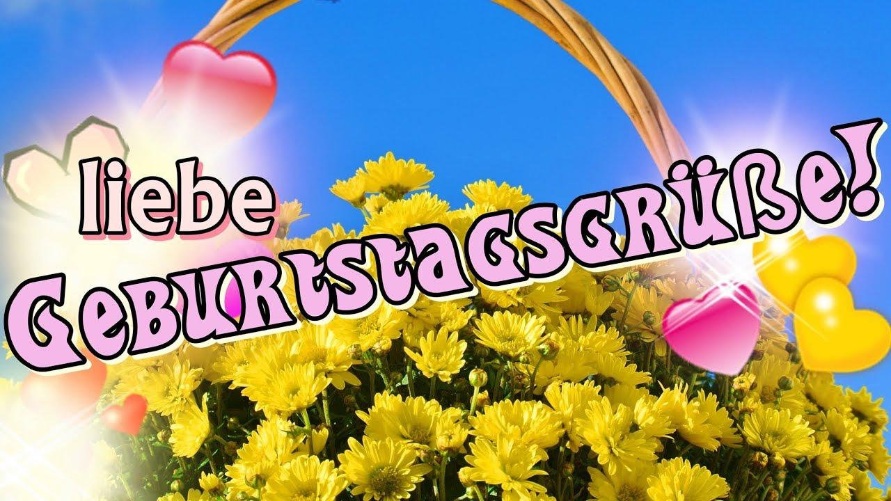 Liebe Geburtstagsgrüße Video, Liebe Geburtstagswünsche Zum Geburtstag,  Geburtstagsgrüße Kostenlos bei Geburtstagsgrüße Bilder Kostenlos