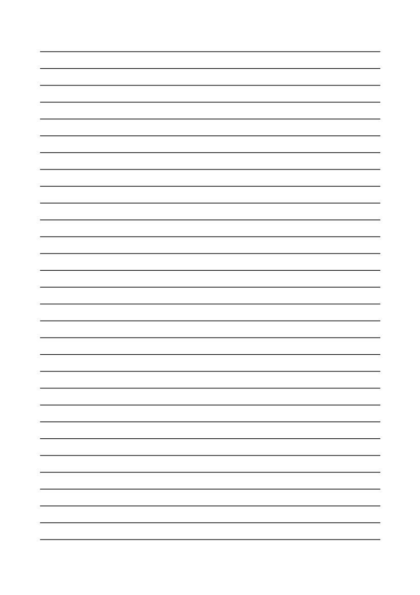 Linienpapier Kostenlos Zum Ausdrucken innen Liniertes Papier Vorlage
