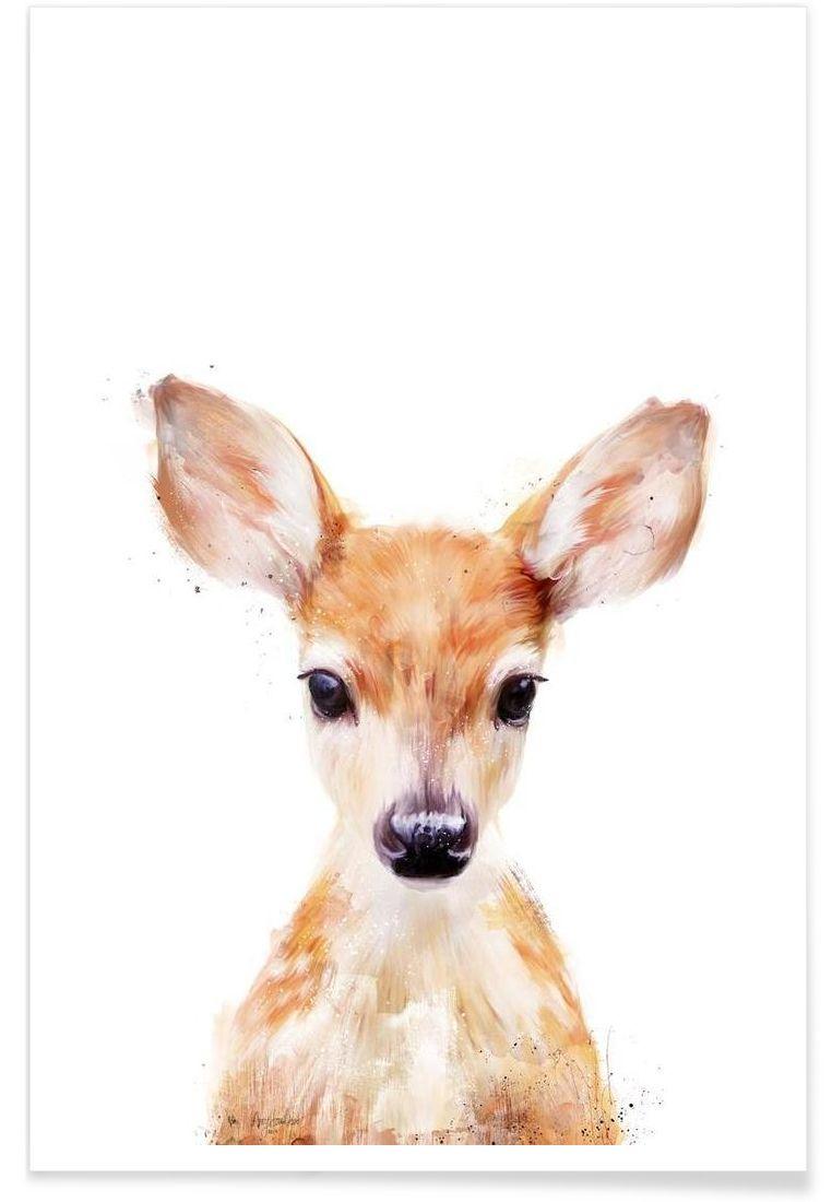 Little Deer (Mit Bildern) | Tierkunst, Zeichnungen mit Reh Zeichnen