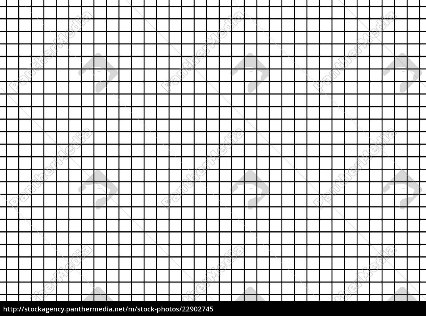 Lizenzfreies Bild 22902745 - Kariertes Papier Schwarz Weiß in Kariertes Blatt