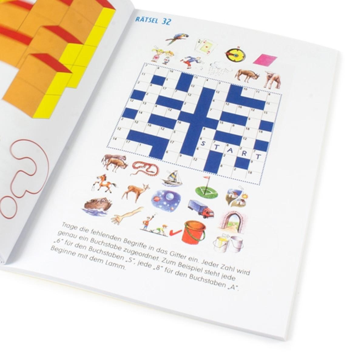 Logische Denkrätsel Für Kinder, 64 Rätsel Mit Lösungen, 1 Rätselheft verwandt mit Denk Rätsel