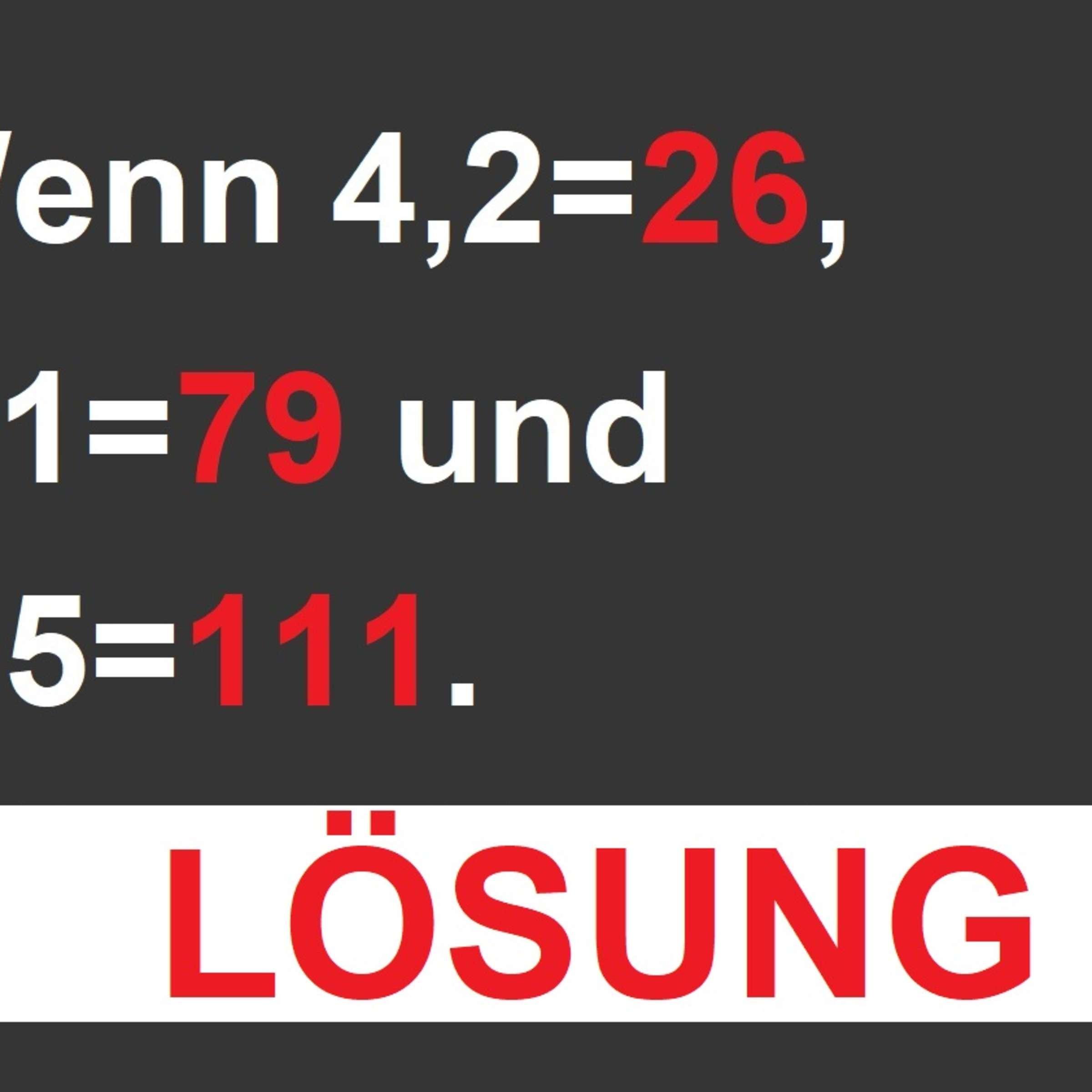 Lösung: Dieses Zahlen-Rätsel Knackt Nur, Wer Wie Ein Echtes für Bilder Rätsel Lösung