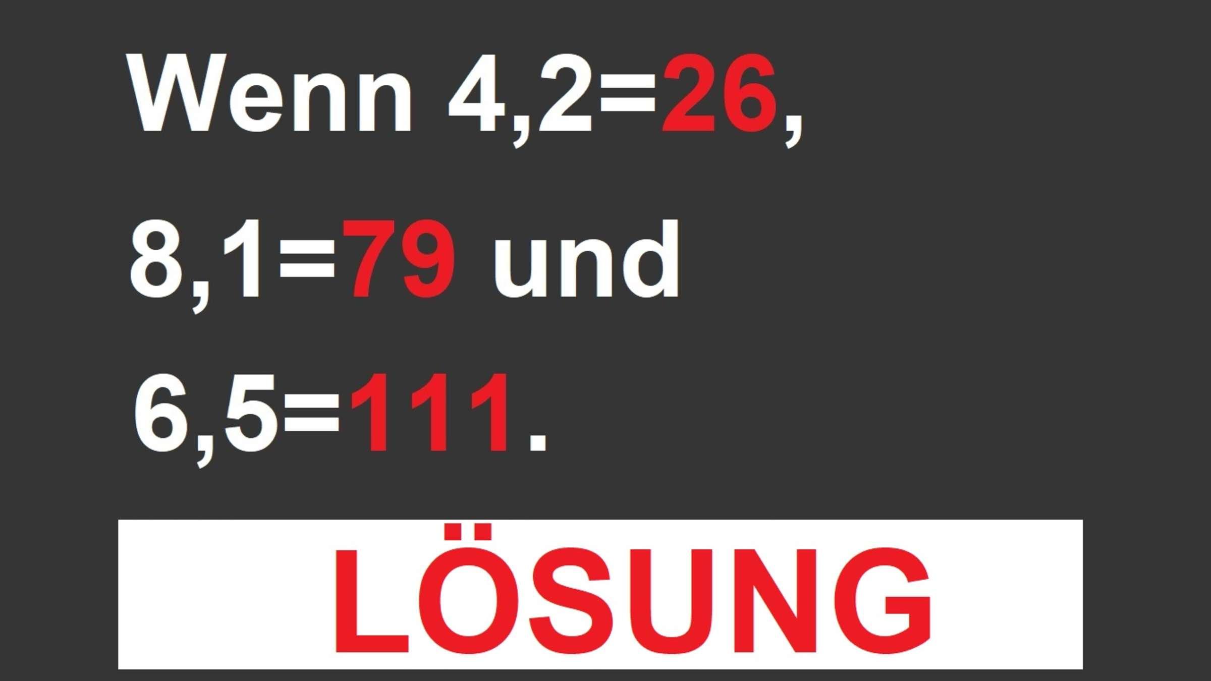 Lösung: Dieses Zahlen-Rätsel Knackt Nur, Wer Wie Ein Echtes über Denk Rätsel