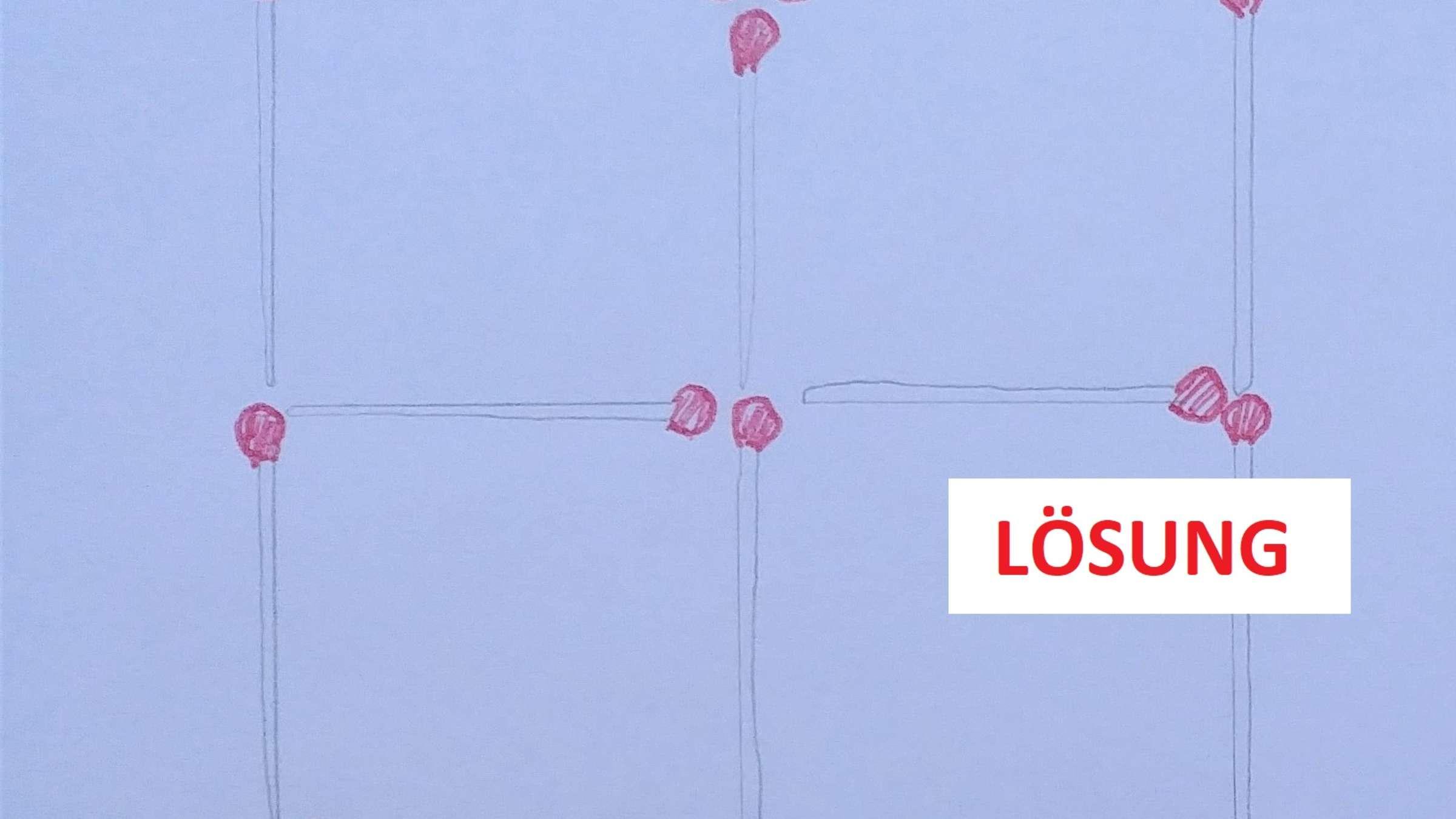 Lösung: Streichholz-Rätsel: Hier Werden Ihre Grauen Zellen innen Streichholzrätsel