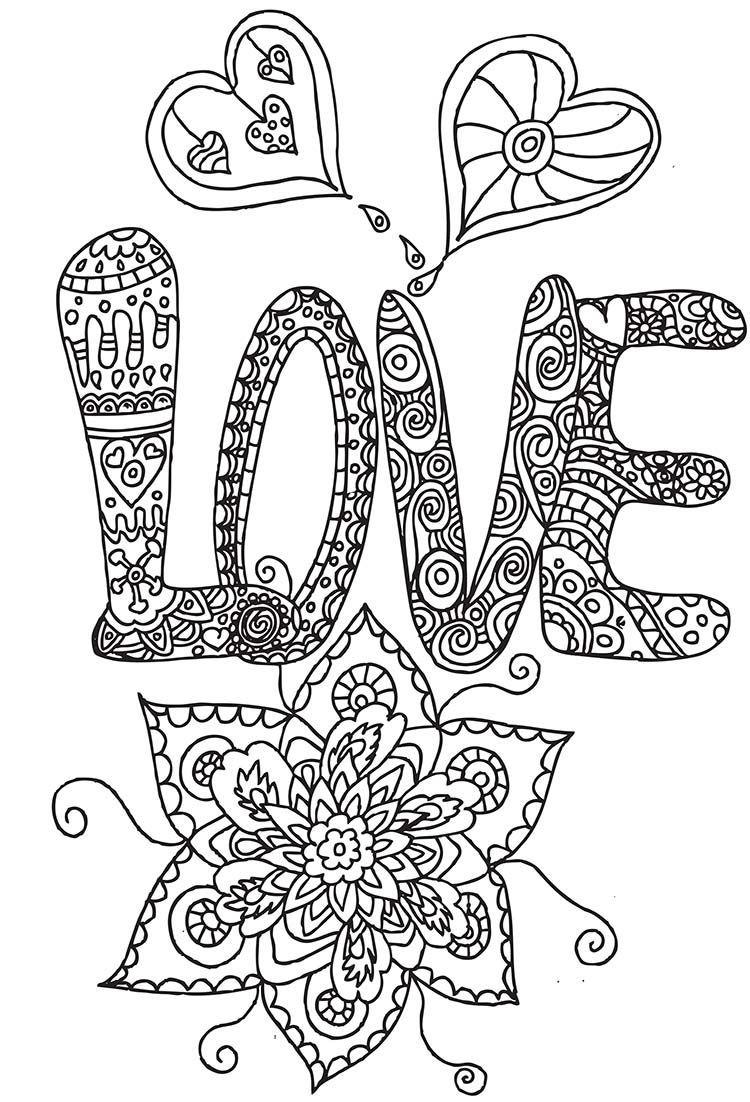 Love Bild Zum Ausmalen   Love Coloring Pages, Valentine über Lustige Ausmalbilder