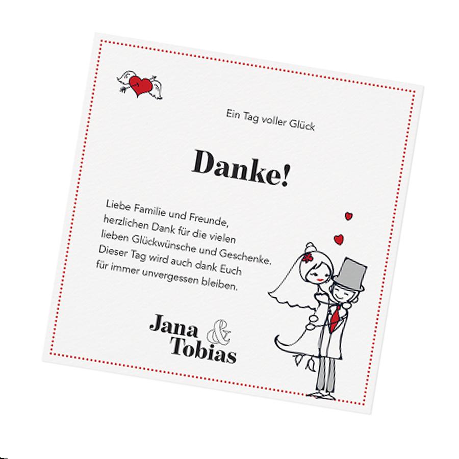 Lustige Dankeskarten Nach Der Hochzeit Bestellen ganzes Dankes Karten