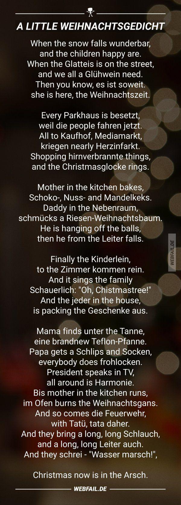 Lustige Gedichte Zur Weihnachtszeit | Gedicht Weihnachten bei Lustige Gedichte Zur Weihnachtszeit