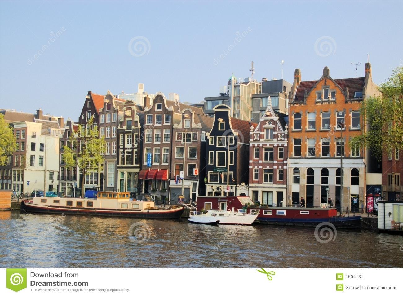 Lustige Häuser Von Amsterdam Stockbild - Bild Von Braun über Lustige Häuser Bilder